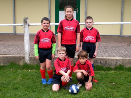 Equipe Débutants 2009/2010
