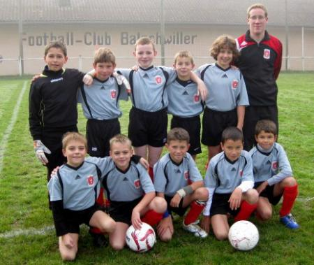 Equipe Poussins 2008/2009