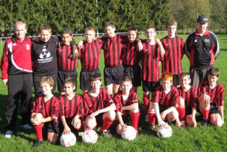 Equipe 13 ans 2008/2009