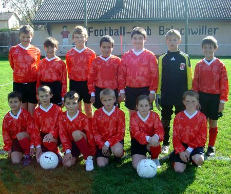 Equipe Benjamins 2 2008/2009
