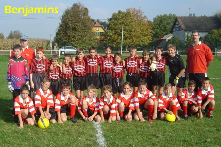 Equipes Benjamins 2007/2008