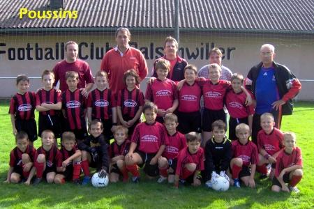 Equipes Poussins 2007/2008