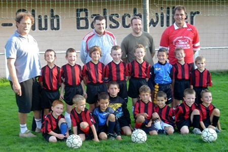 Equipes Débutants 2006/2007