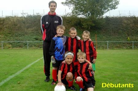 Equipe Débutants 2007/2008