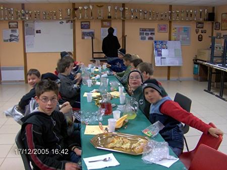 Fête de Noël Benjamins 2005/2006
