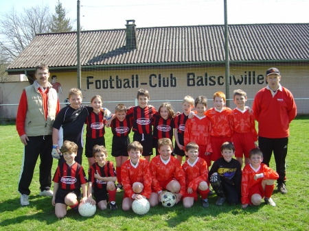 Equipes Poussins 1 & 2 2005/2006